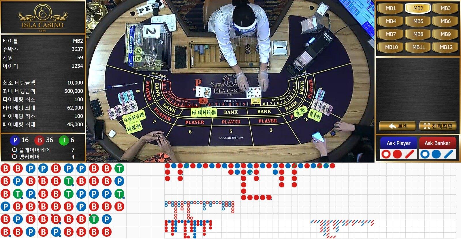 테이블 1